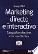 Libro de Marketing Directo E Interactivo