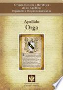 Libro de Apellido Orga