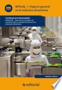 Libro de Higiene General En La Industria Alimentaria. Inaq0108