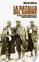 Libro de La Batalla Del Somme