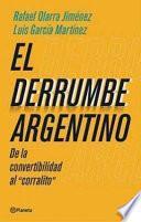 Libro de El Derrumbe Argentino