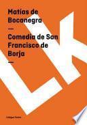 Libro de Comedia De San Francisco De Borja