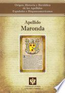 Libro de Apellido Maronda