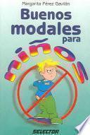 Libro de Buenos Modales Para Niños