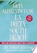 Libro de Guia Alimenticia De La Dieta South Beach