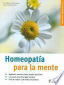 Libro de Homeopatía Para La Mente