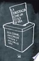 Libro de La Democracia Como Un Estilo De Vida