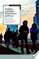 Libro de Análisis Y Gestión De Políticas Públicas