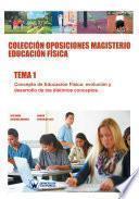 Libro de Colección Oposiciones Magisterio Educación Física. Tema 1