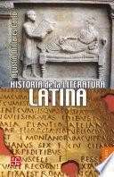 Libro de Historia De La Literatura Latina