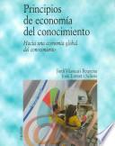 Libro de Principios De Economía Del Conocimiento