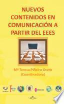 Libro de Nuevos Contenidos En Comunicación A Partir Del Eees