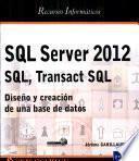Libro de Sql Server 2012   Sql, Transact Sql