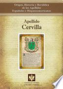 Libro de Apellido Cervilla