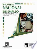 Libro de Encuesta Nacional De Empleo. Baja California Sur. 1996