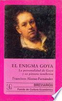 Libro de El Enigma Goya
