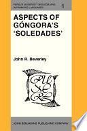 Libro de Aspects Of Góngora S  Soledades