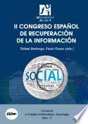 Libro de Ii Congreso Español De Recuperación De La Información