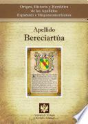 Libro de Apellido Bereciartúa