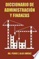Libro de Diccionario De Administración Y Finanzas