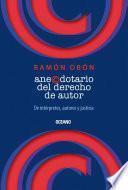 Libro de Anecdotario Del Derecho De Autor
