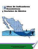 Libro de 10 Años De Indicadores Económicos Y Sociales De México 1985