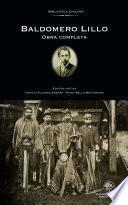 Libro de Baldomero Lillo