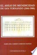 Libro de El Asilo De Mendicidad De San Fernando, 1846 1900