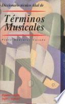 Libro de Diccionario Técnico Akal De Términos Musicales