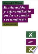 Libro de Evaluación Y Aprendizaje En La Escuela Secundaria