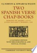 Libro de Two Spanish Verse Chap Books