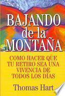 Libro de Bajando De La Montaña
