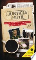 Libro de Justicia Inútil