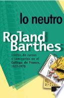 Libro de Lo Neutro