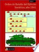 Libro de Orden De Batalla Del Ejército Soviético, Libro I Junio A Agosto 1941