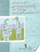 Libro de Programa De Promoción De Salud Materno Infantil
