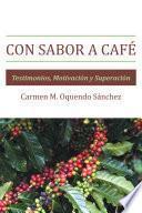 Libro de Con Sabor A Café