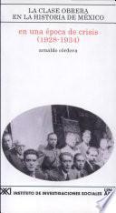 Libro de En Una época De Crisis (1928 1934)