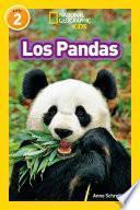 Libro de National Geographic Readers: Los Pandas (pandas)