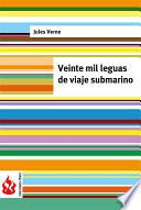 Libro de Veinte Mil Leguas De Viaje Submarino (low Cost). Edición Limitada