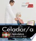Libro de Celador. Servicio Vasco De Salud Osakidetza. Test