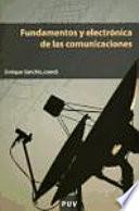 Libro de Fundamentos Y Electrónica De Las Comunicaciones