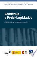 Libro de Academia Y Poder Legislativo
