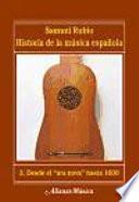 Libro de Historia De La Música Española. 2. Desde El «ars Nova» Hasta 1600