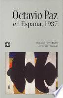 Libro de Octavio Paz En España, 1937