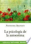Libro de La Psicología De La Autoestima