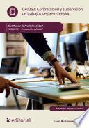 Libro de Contratación Y Supervisión De Trabajos De Preimpresión. Argn0109