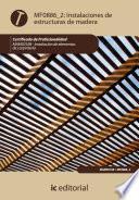 Libro de Instalación De Estructuras De Madera. Mams0108
