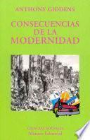 Libro de Consecuencias De La Modernidad