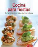 Libro de Cocina Para Fiestas